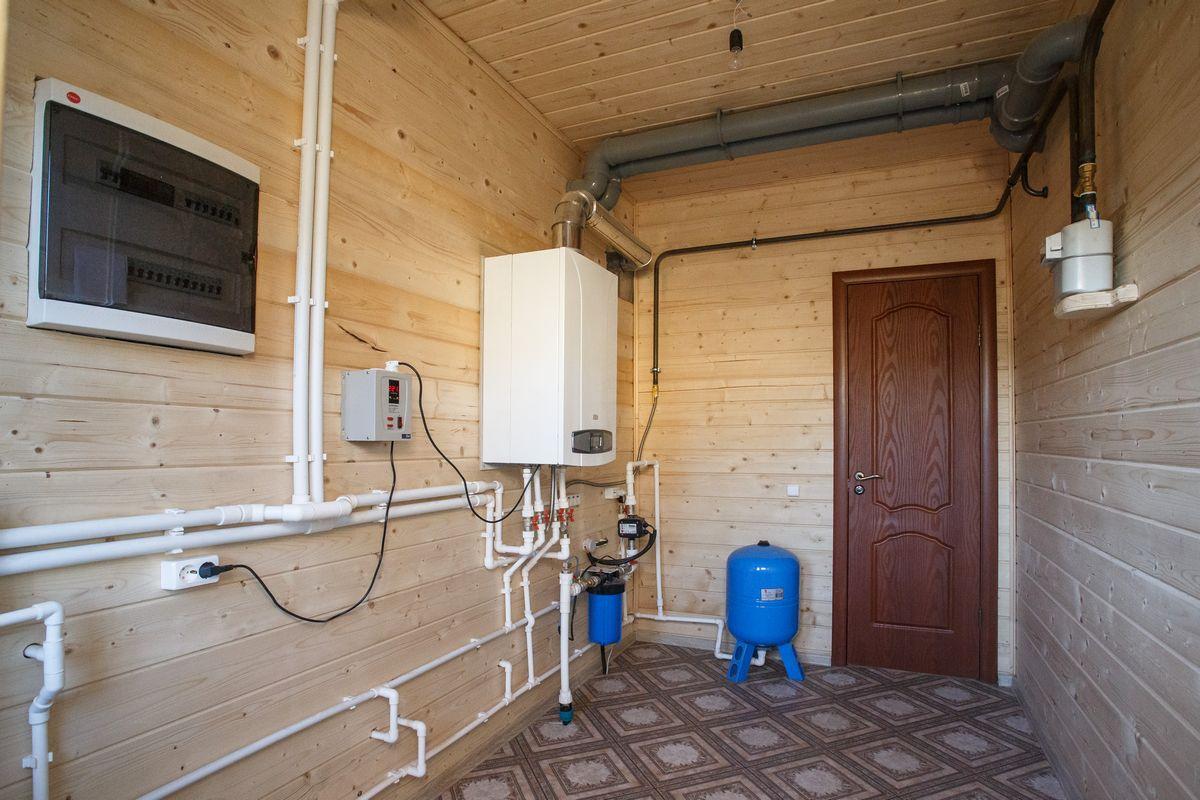Монтаж отопления своими руками в деревянном доме 44